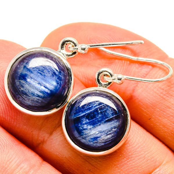 Kyanite Earrings handcrafted by Ana Silver Co - EARR415460