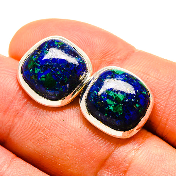 Azurite Earrings handcrafted by Ana Silver Co - EARR415498