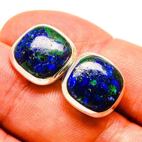 Azurite Earrings handcrafted by Ana Silver Co - EARR415547