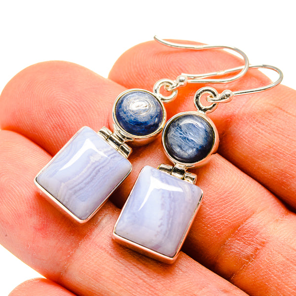 - Handmade Jewelry 925 Sterling Silver Ana Silver Co Moroccan Agate Pendant 1 5//8 Vintage PD724155 Bohemian