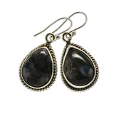 Gabbro Stone Earrings handcrafted by Ana Silver Co - EARR392559