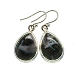 Gabbro Stone Earrings handcrafted by Ana Silver Co - EARR392594