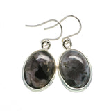 Gabbro Stone Earrings handcrafted by Ana Silver Co - EARR392598