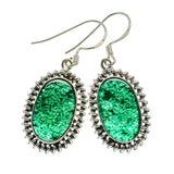 Green Aventurine Earrings handcrafted by Ana Silver Co - EARR393376