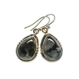 Gabbro Stone Earrings handcrafted by Ana Silver Co - EARR393608