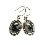 Gabbro Stone Earrings handcrafted by Ana Silver Co - EARR393739