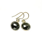 Black Onyx Earrings handcrafted by Ana Silver Co - EARR405551