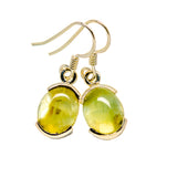 Prehnite Earrings handcrafted by Ana Silver Co - EARR412400