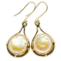 Mother Of Pearl Earrings handcrafted by Ana Silver Co - EARR412569