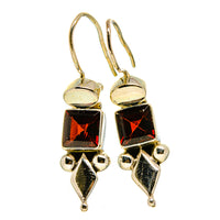 Garnet Earrings handcrafted by Ana Silver Co - EARR413694