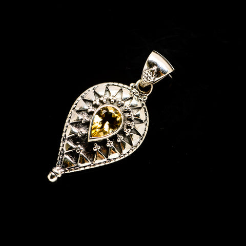 Citrine Pendants handcrafted by Ana Silver Co - PD731410
