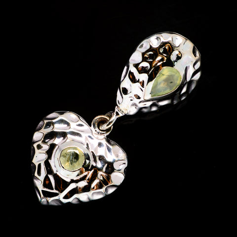 Prehnite Pendants handcrafted by Ana Silver Co - PD731438