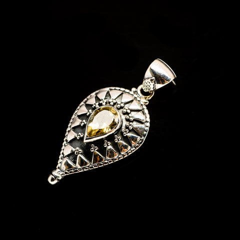 Citrine Pendants handcrafted by Ana Silver Co - PD731472
