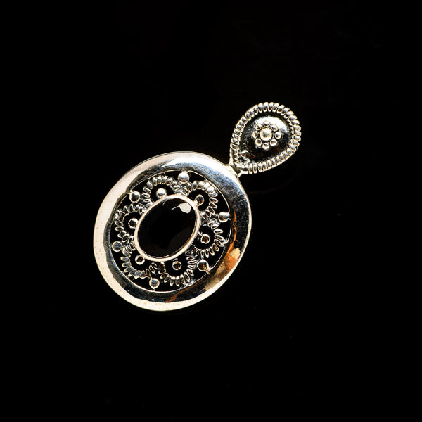 Black Onyx Pendants handcrafted by Ana Silver Co - PD731479