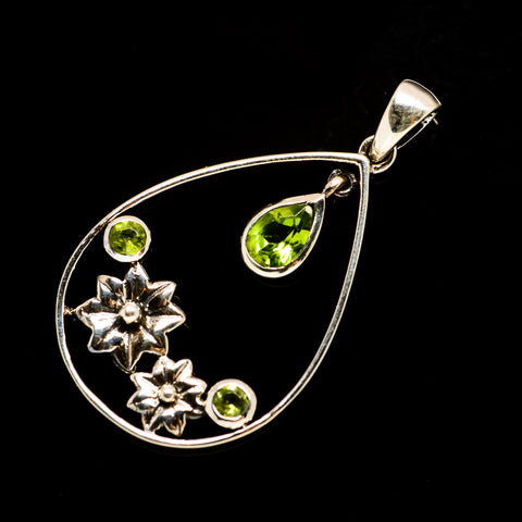 Peridot Pendants handcrafted by Ana Silver Co - PD731642