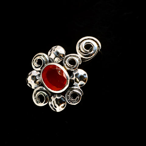Red Onyx Pendants handcrafted by Ana Silver Co - PD731690