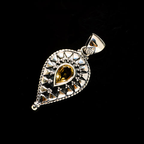 Citrine Pendants handcrafted by Ana Silver Co - PD731692