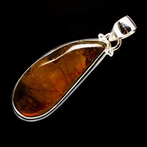 Ammolite Pendants handcrafted by Ana Silver Co - PD707852