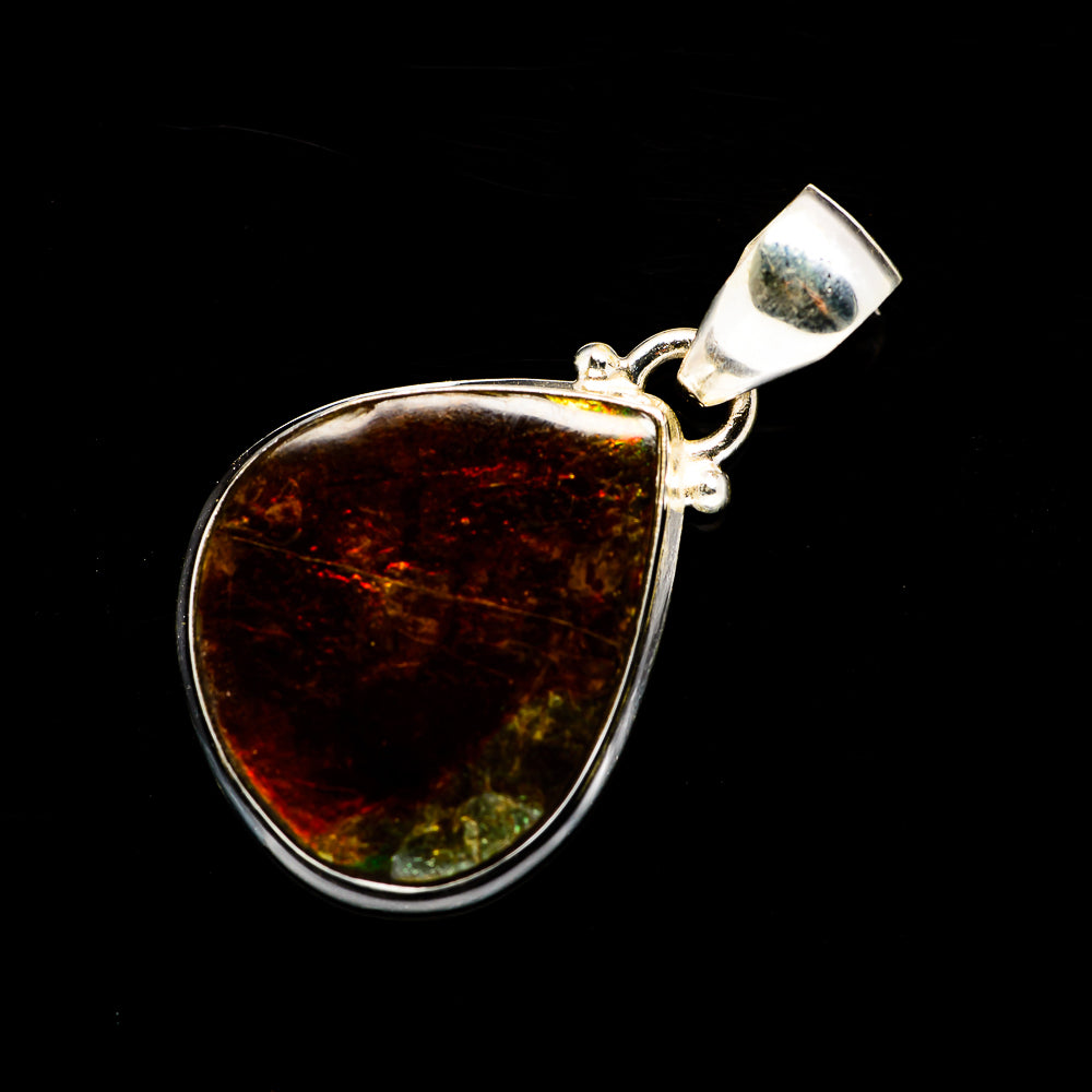 Ammolite Pendants handcrafted by Ana Silver Co - PD708234