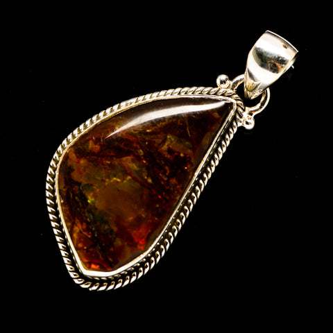 Ammolite Pendants handcrafted by Ana Silver Co - PD709134
