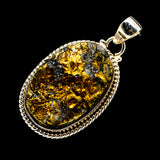 Spectro Pyrite Druzy Pendants handcrafted by Ana Silver Co - PD711791