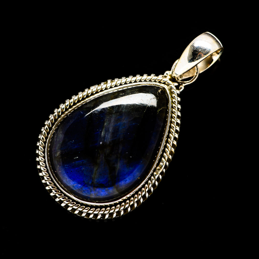 Labradorite Pendants handcrafted by Ana Silver Co - PD712065