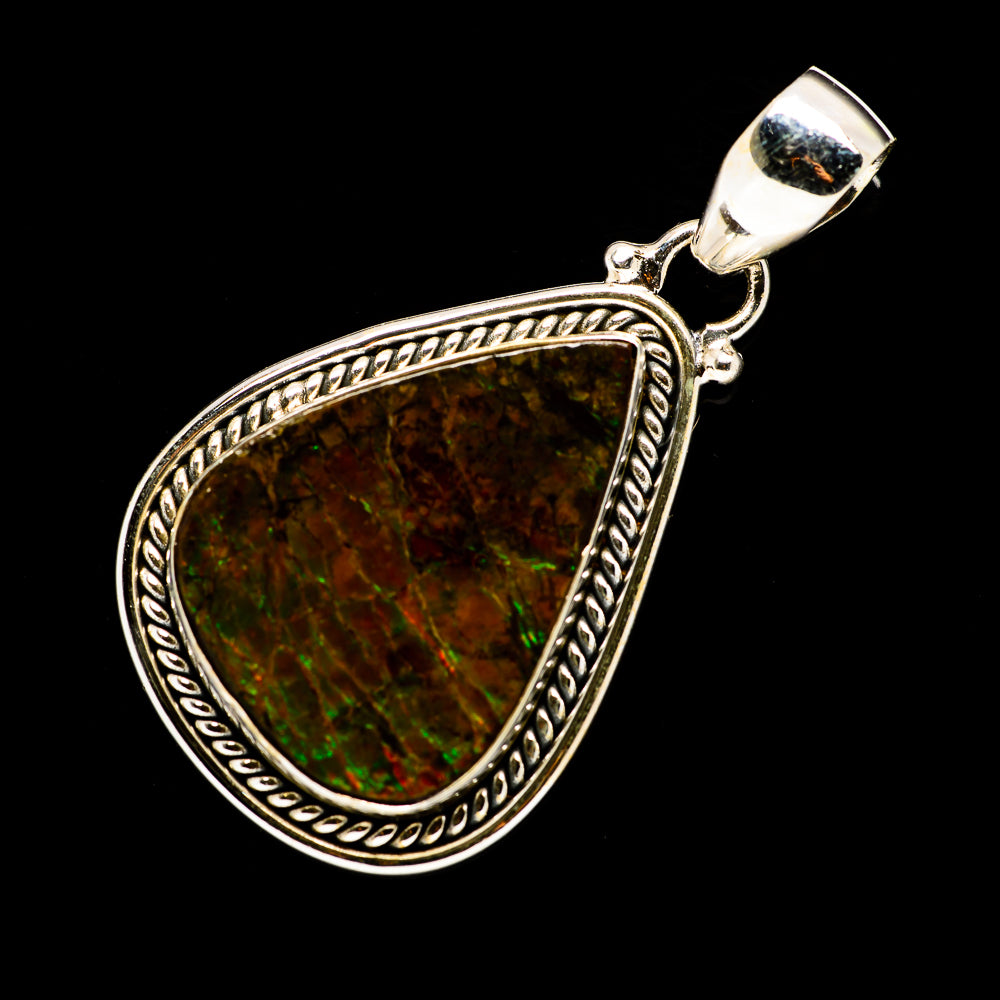 Ammolite Pendants handcrafted by Ana Silver Co - PD713196