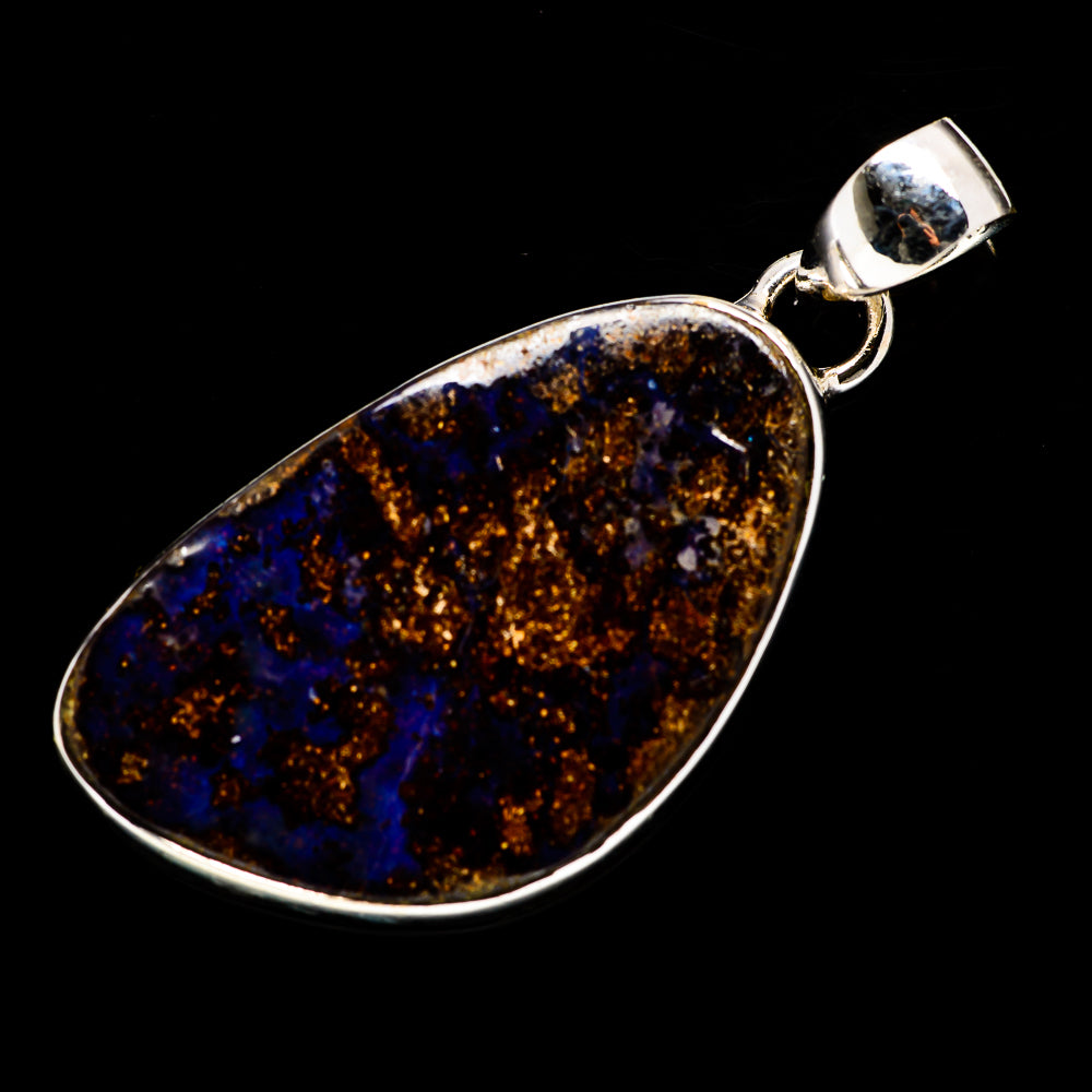 Boulder Opal Pendants handcrafted by Ana Silver Co - PD718385