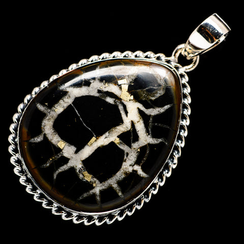 Septarian Geode Pendants handcrafted by Ana Silver Co - PD719782