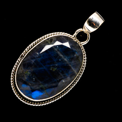 Labradorite Pendants handcrafted by Ana Silver Co - PD720034