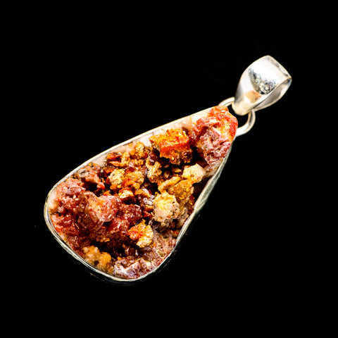 Vanadinite Pendants handcrafted by Ana Silver Co - PD720074