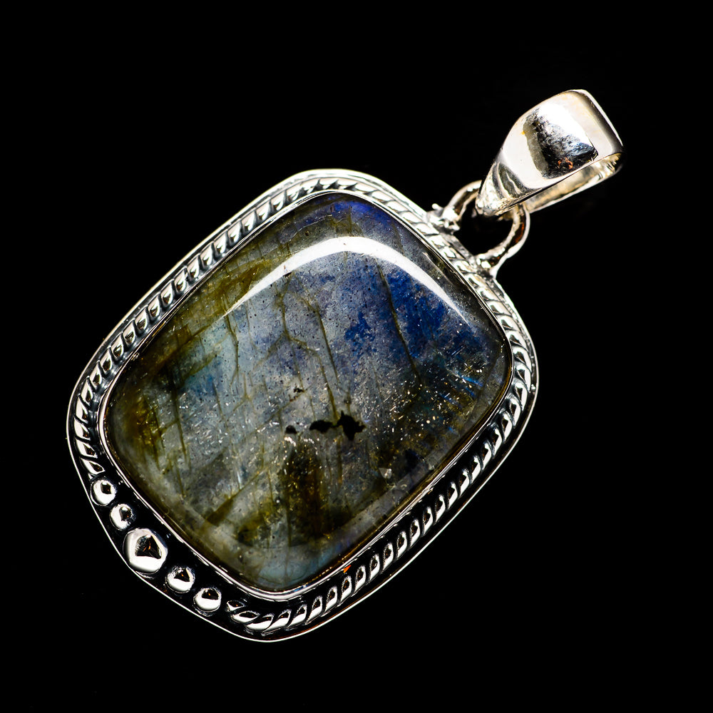 Labradorite Pendants handcrafted by Ana Silver Co - PD721655