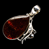 Ammolite Pendants handcrafted by Ana Silver Co - PD723380