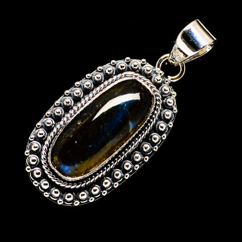 Labradorite Pendants handcrafted by Ana Silver Co - PD723683