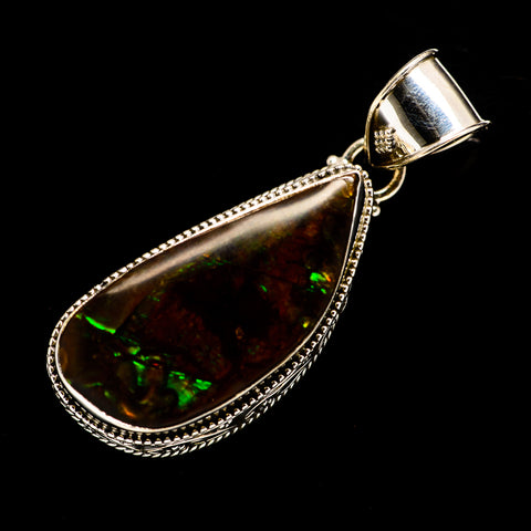 Ammolite Pendants handcrafted by Ana Silver Co - PD723959