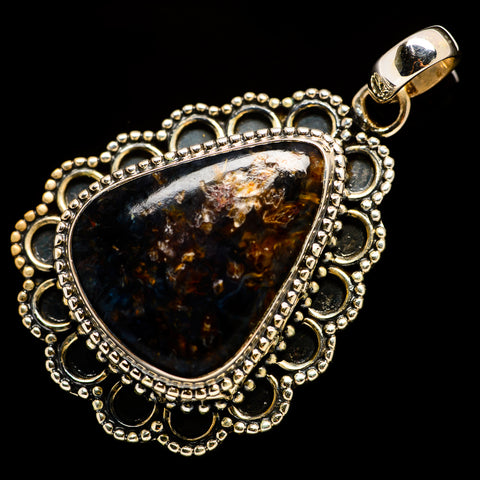 Bronzite Pendants handcrafted by Ana Silver Co - PD725889