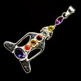 Multi-Stone Chakra Pendants handcrafted by Ana Silver Co - PD726399