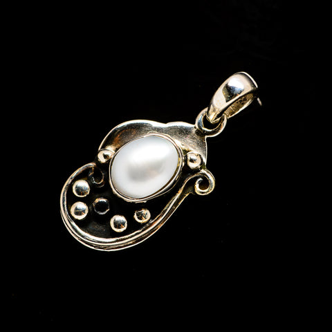Cultured Pearl Pendants handcrafted by Ana Silver Co - PD726552