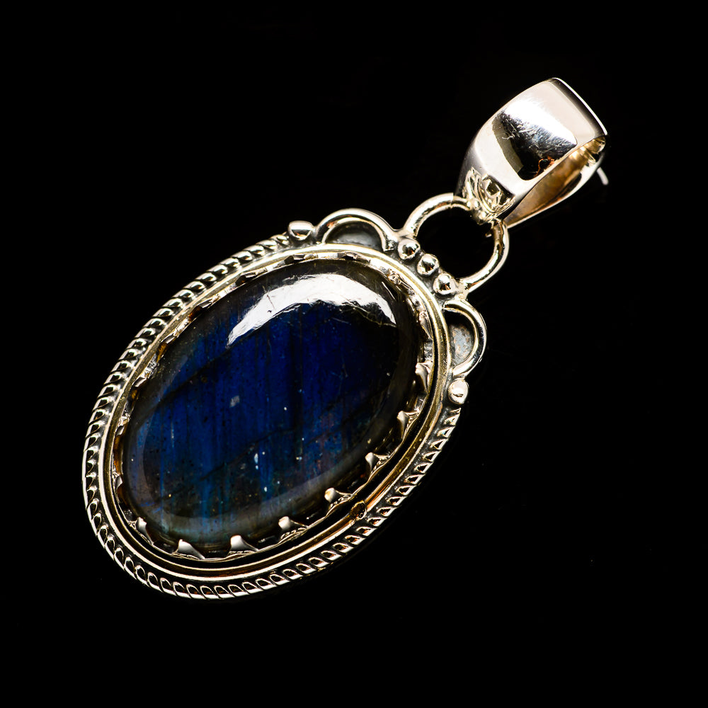 Labradorite Pendants handcrafted by Ana Silver Co - PD728159
