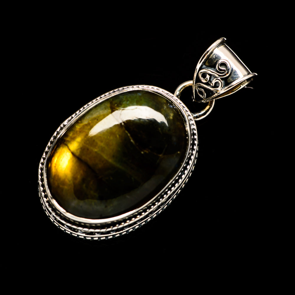 Labradorite Pendants handcrafted by Ana Silver Co - PD728410