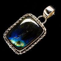 Labradorite Pendants handcrafted by Ana Silver Co - PD728466