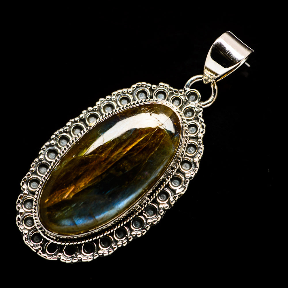 Labradorite Pendants handcrafted by Ana Silver Co - PD728682