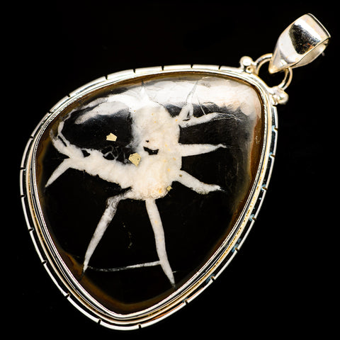 Septarian Geode Pendants handcrafted by Ana Silver Co - PD729386