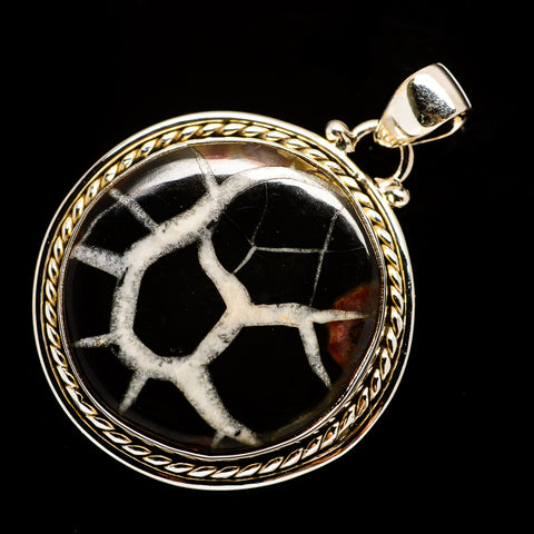 Septarian Geode Pendants handcrafted by Ana Silver Co - PD729404