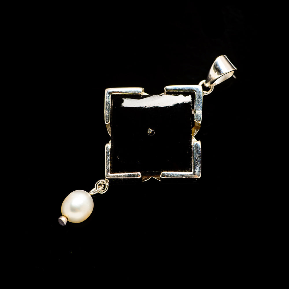 Black Onyx Pendants handcrafted by Ana Silver Co - PD729645