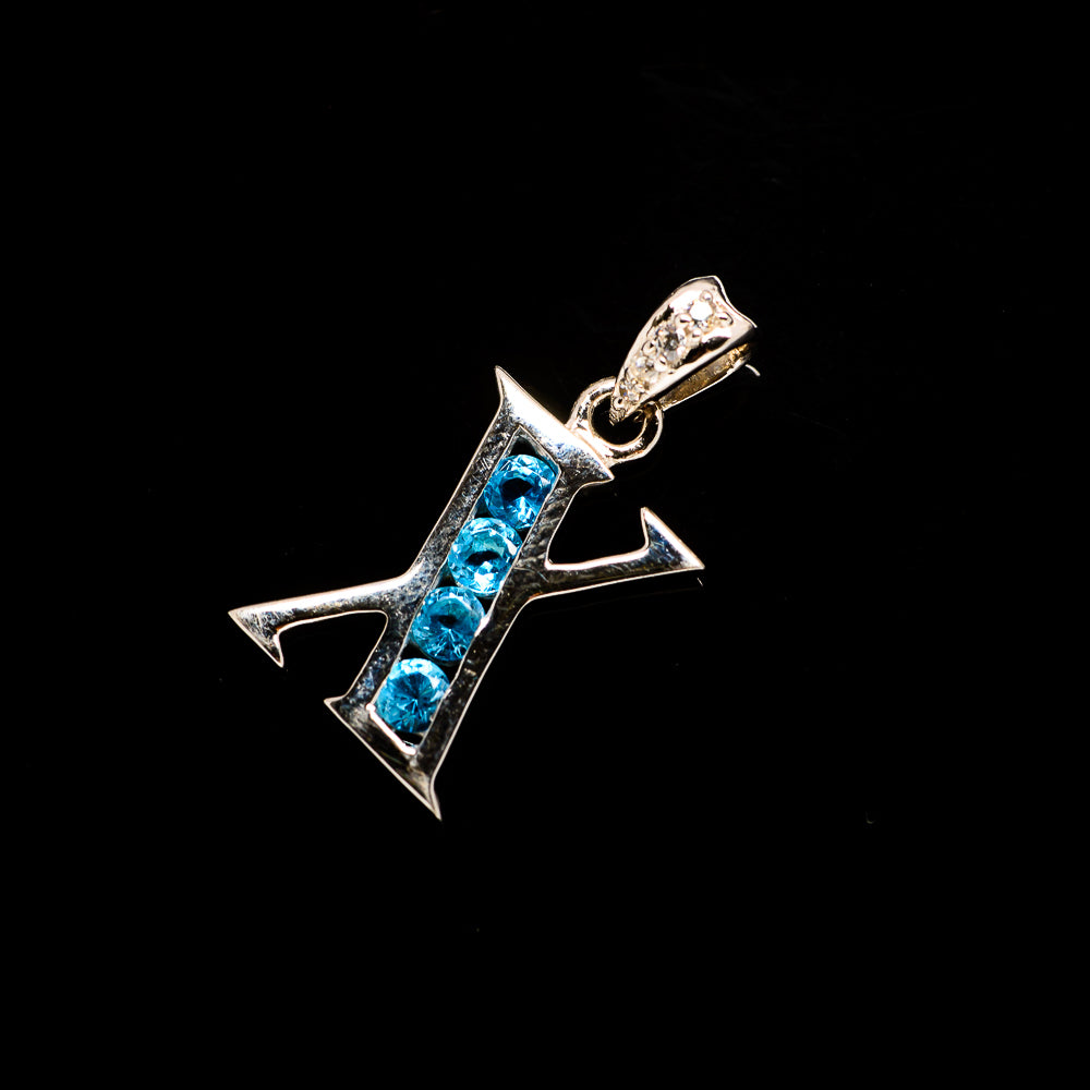 Blue Topaz Pendants handcrafted by Ana Silver Co - PD729945