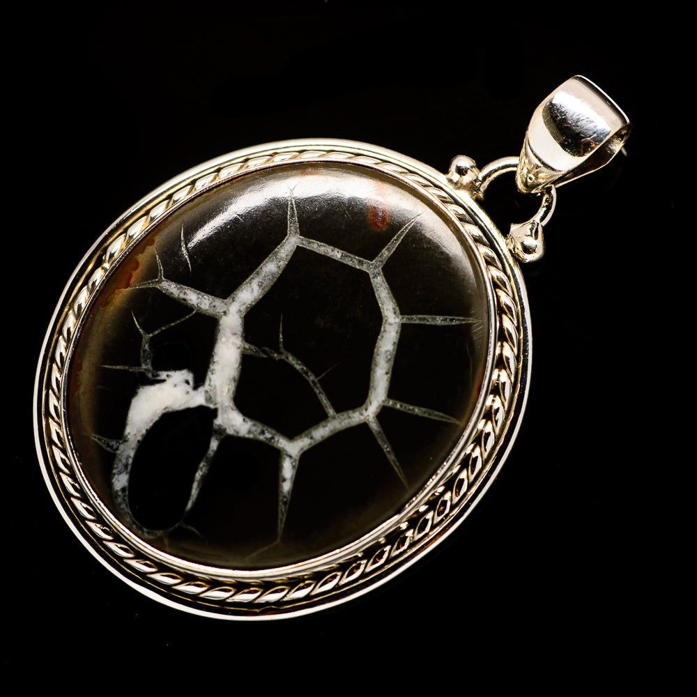 Septarian Geode Pendants handcrafted by Ana Silver Co - PD730085