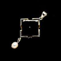 Black Onyx Pendants handcrafted by Ana Silver Co - PD730658