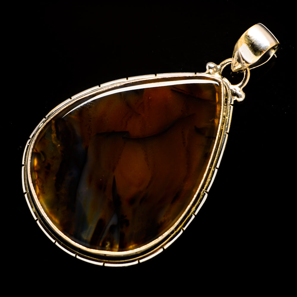 Montana Agate Pendants handcrafted by Ana Silver Co - PD730893