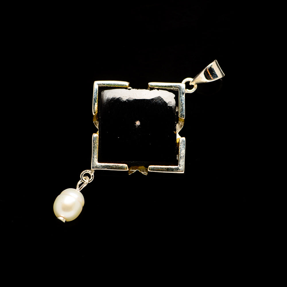 Black Onyx Pendants handcrafted by Ana Silver Co - PD731038
